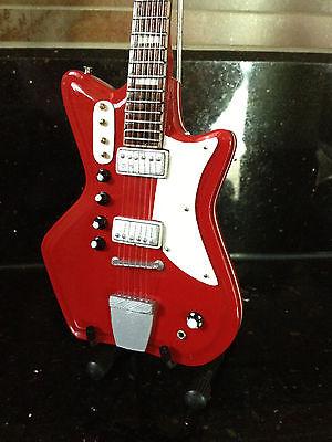 The White Stripes Jack White 1964 JB Hutto Montgomery Ward Airline Mini Guitar  for sale  Elk Grove