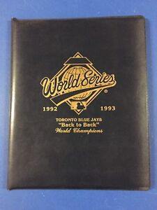 Blue Jays World Series Back to Back Commemorative Programs