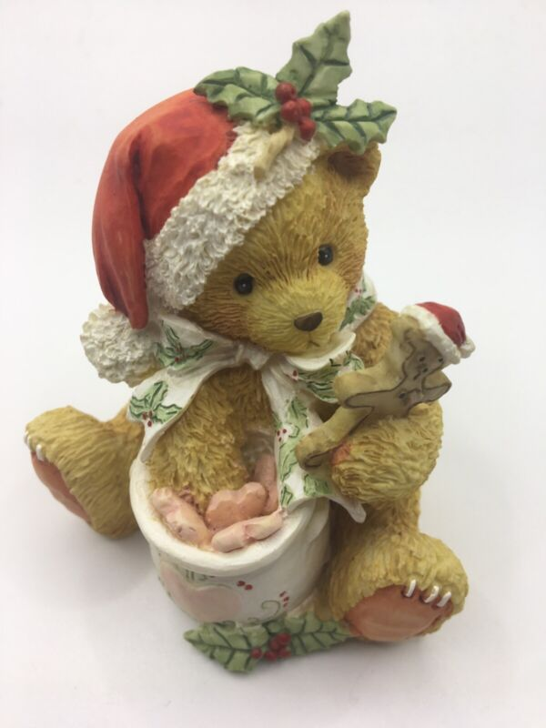 """Cherished Teddies 1992 STEVEN """"A Season Filled with Sweetness"""" with box"""