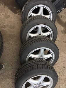 "5x112 Mercedes Benz 16po , 16"" Original - Michelin Hiver 500$"