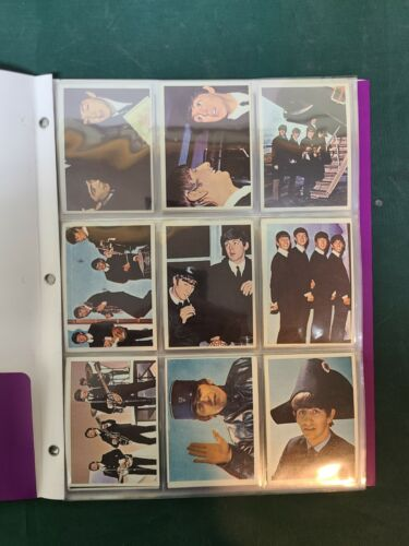 1964 Topps BEATLES DIARY Cards COMPLETE Set 60 Cards PLUS 21A RARE ERROR CARD