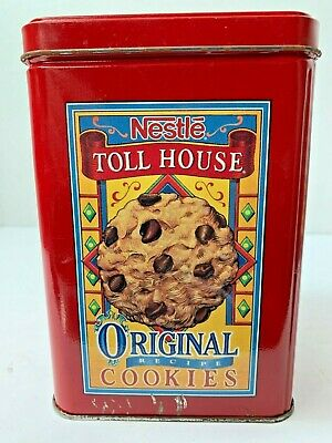 Vintage Nestle Toll House Original Cookies & Morsels Tin Display Piece Collect