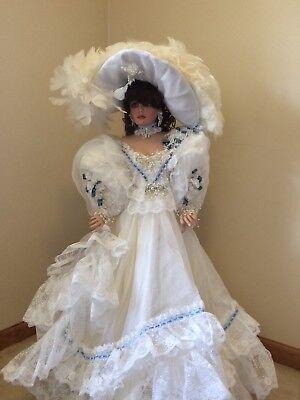 "Rustie, Unique Designs, Stunning Rusti, 42"" porcelain doll. #1 special edition"