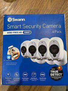 Swann wireless smart security cameras