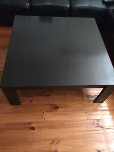 Chocolate brown solid wood coffee table Liverpool Liverpool Area Preview