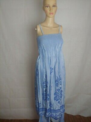 - LAPIS Womens Strapless Tube Dress or Skirt! Elegant Shimmer Light Blue  Fluted