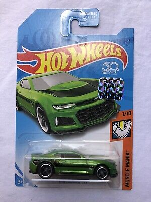 Hot Wheels 2018 super treasure hunt Factory Sealed 2017 Camaro ZL1