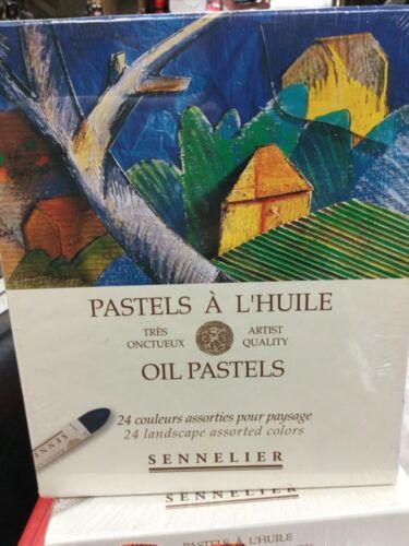 Sennelier Oil Pastels 24 landscape assorted colors nib