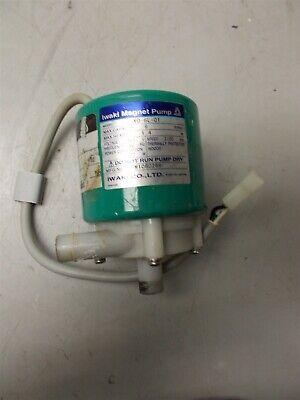 Iwaki Magnet Pump Model Md-6l-01 Max Capacity 9 Lmin Max Head 1.4m 115v