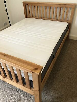 Secondhand 5' double bed in great condition with mattress