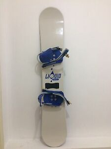 Liquid Snowboard, Boots & Bindings