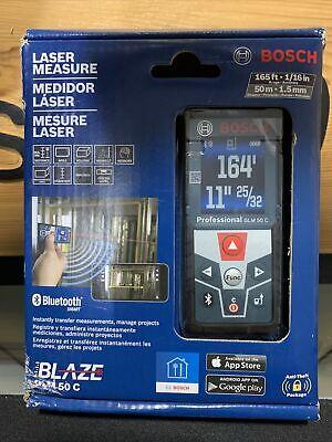 Bosch Glm50c 165 Ft Laser Distance Measure