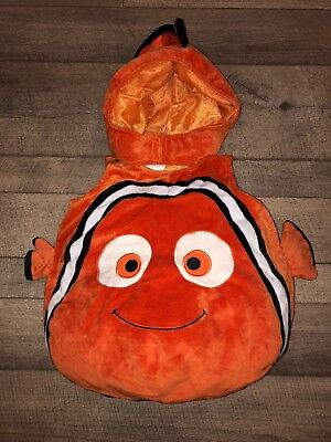Nemo Costume 2t (Disney Store Baby Toddler-----Finding Nemo Costume-----Outfit & Hat-----Size:)