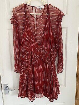 IRO Red Dress Size 36