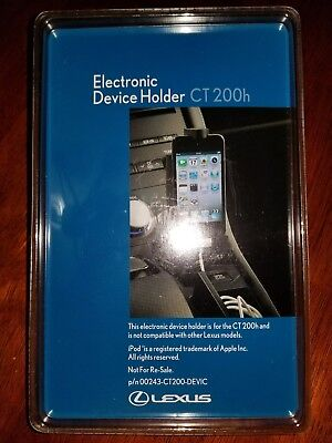 Genuine Factory OEM Lexus CT200h CT 200h Electronic Device Cell Phone Holder