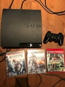 PS3 320 GB slim in great condition