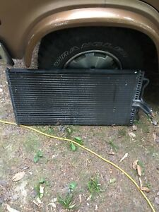 Radiator and AC evaporator rad for 2007 Ford F-150