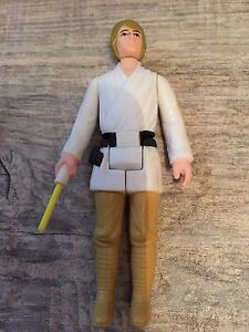 Star Wars Vintage Luke Farmboy Figure 1977 No Coo Kenner