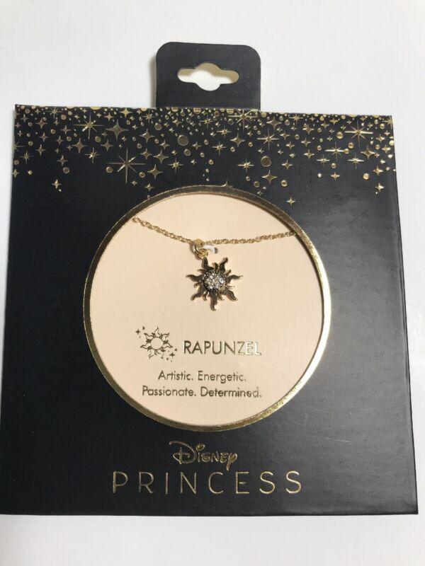 Disney Tangled Rapunzel Dainty Charm Necklace