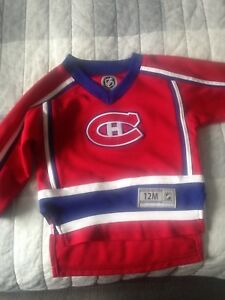 Montreal Canadians baby jersey