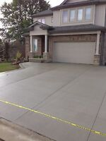concrete pads, walkways, driveways SPRING IS HERE, UP TO 50% OFF