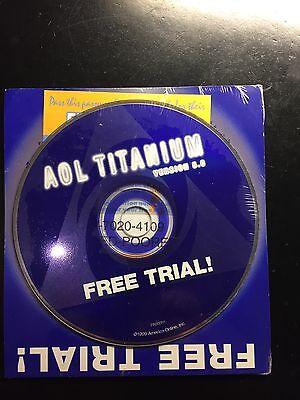 Collectors Cd Aol America Onlinetitanium 5 0 Sealed