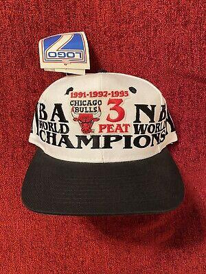 Vintage Authentic Chicago Bulls 1993 NBA Champions Hat