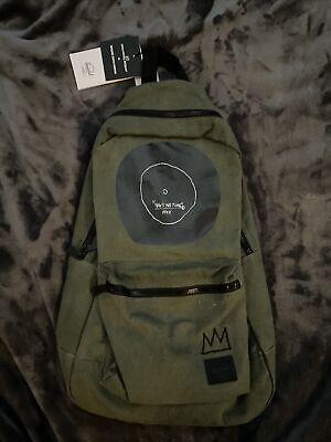 Herschel Supply Co. x Jean-Michel Basquiat Classic Dark-Olive Backpack (Rare)