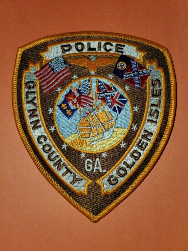 Glynn County Georgia Golden Isles Police Patch