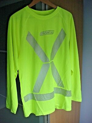 Ironclad High Visibility Dri-T Long Sleeved Yellow Reflective T-Shirt - BNWOT