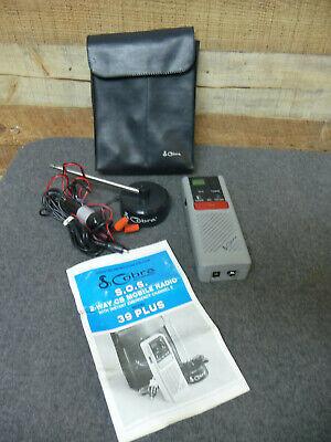 COBRA Model 39 Plus 40 Ch S.O.S. 2-way Emergency CB Car Radio Kit + Antenna Case