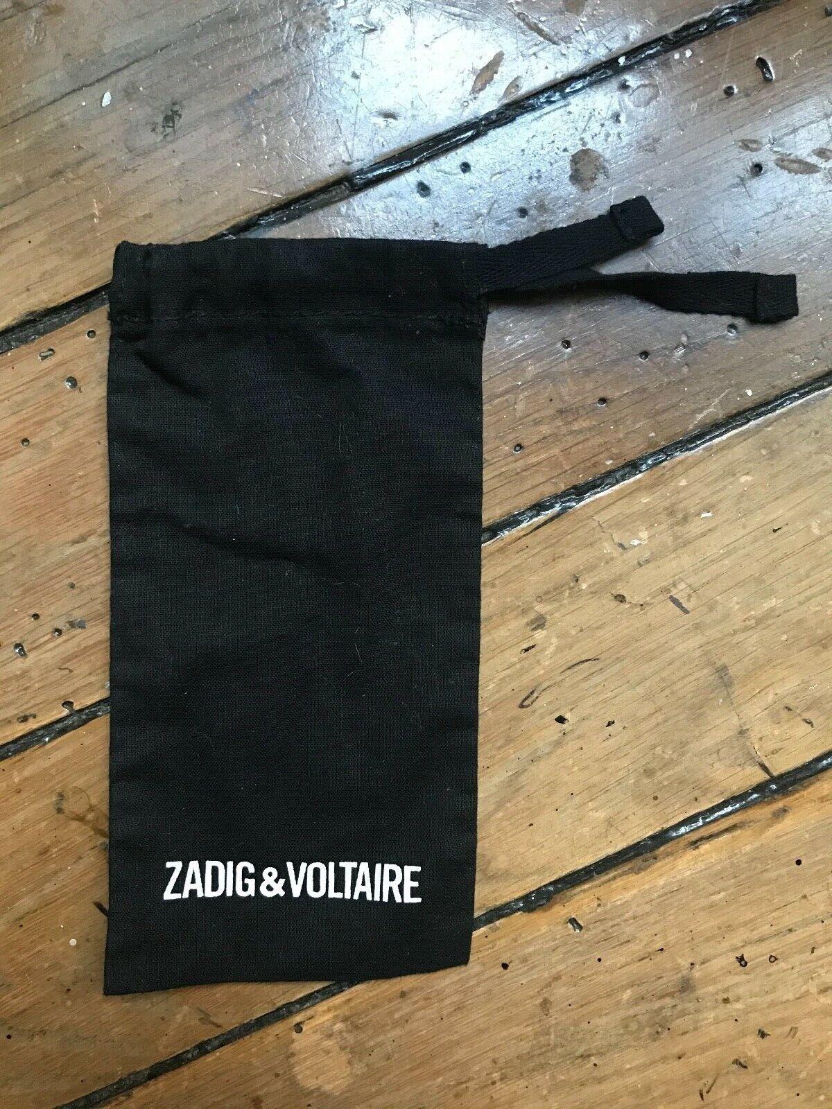 Zadig et voltaire pochon sac étui à lunettes en tissu