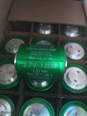 6x Ultracapacitor Ioxus 1200f 2.7v Farad 12v Battery Car Capacitor Maxwell Solar