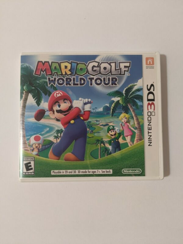 Mario Golf: World Tour (Nintendo 3DS 2014) With Case And Manual