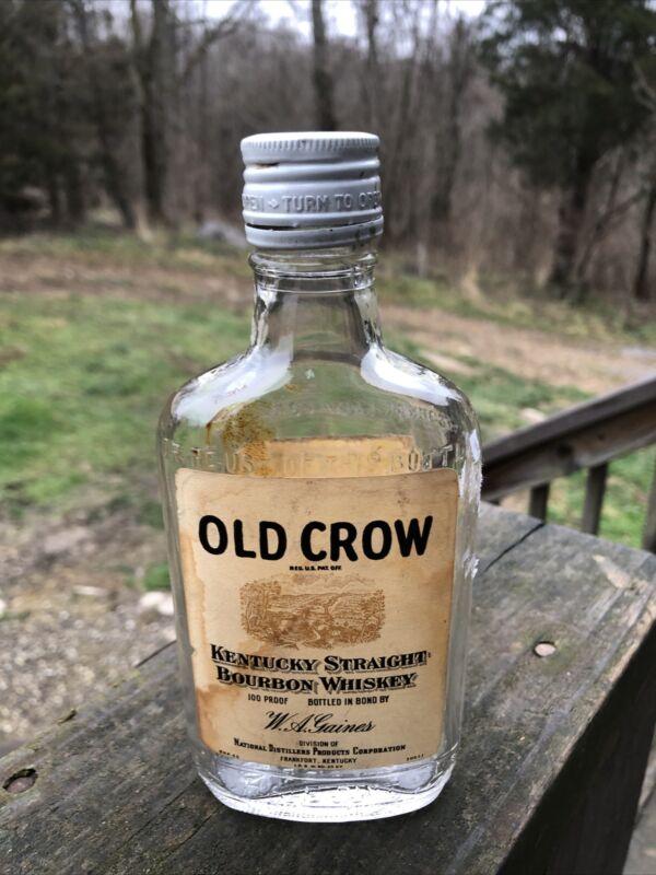 Old Crow 1/2 Pt Bottle
