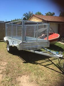 Trailers Hot Dipped Galvanized most sizes available  Collingwood Park Ipswich City Preview