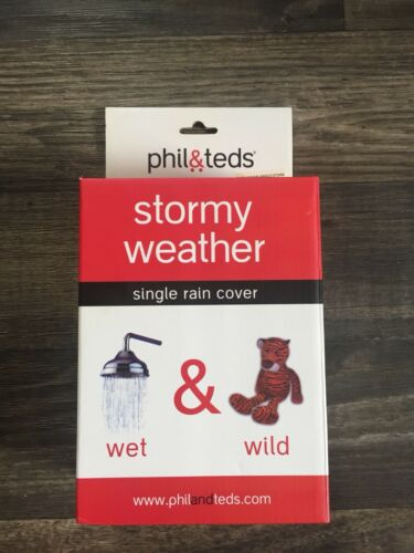 Phil & Teds Dash Stormy Weather Single Rain Cover Stroller A