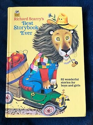 Golden Books R. Scarry's Best Storybook Ever, 82 Wonderful Stories 1995HC Like