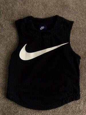 Black Nike Vest Top XS