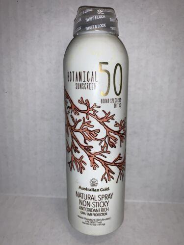 Australian Gold Botanical Sunscreen SPF 50 Natural Spray, 6