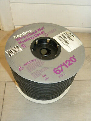 Raychem Wintergard Wet Electric Heating Cable 6w120v H612 - 250 Roll
