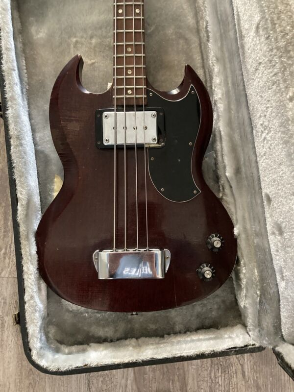 Gibson Eb0 SG Electric Bass 1971 With  Case