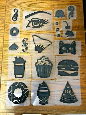 NEW STASH  FOAM STAMPS 20 PC ALL MIXED UP -