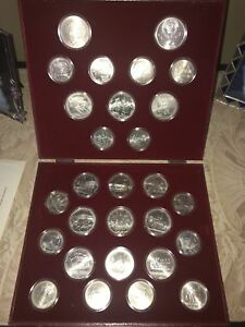 1980 Moscow Olympic Coin Set
