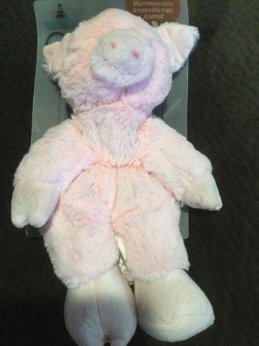 Cozy Hugs Pink Pig Aromatherapy Animal Microwavable New