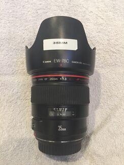 Canon Prime Lens 35mm f1.4