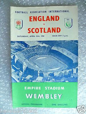 1961 ENGLAND v SCOTLAND, 15th April (Home International Match)