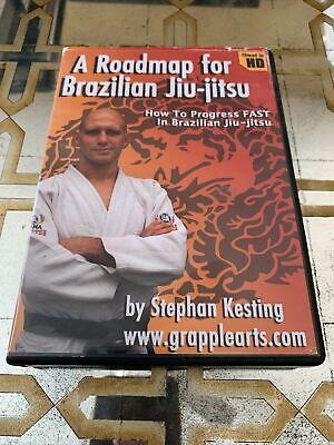 ROADMAP FOR BRAZILIAN JIU JITSU Stephan Kesting 5x DVD Training Set