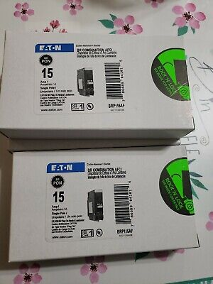 Eaton Cutler-hammer Brp115af Circuit Breaker 15 Amp