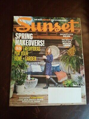Sunset Magazine April 2018 Spring Makeover Home Salad Wildlife Cruise Wines Idea](Spring Salad Ideas)